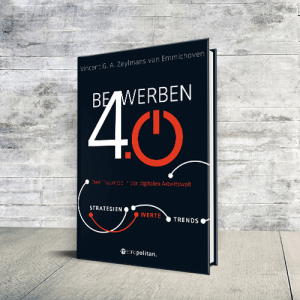 Buchcover Bewerben 4.0 - Bewerbung digital