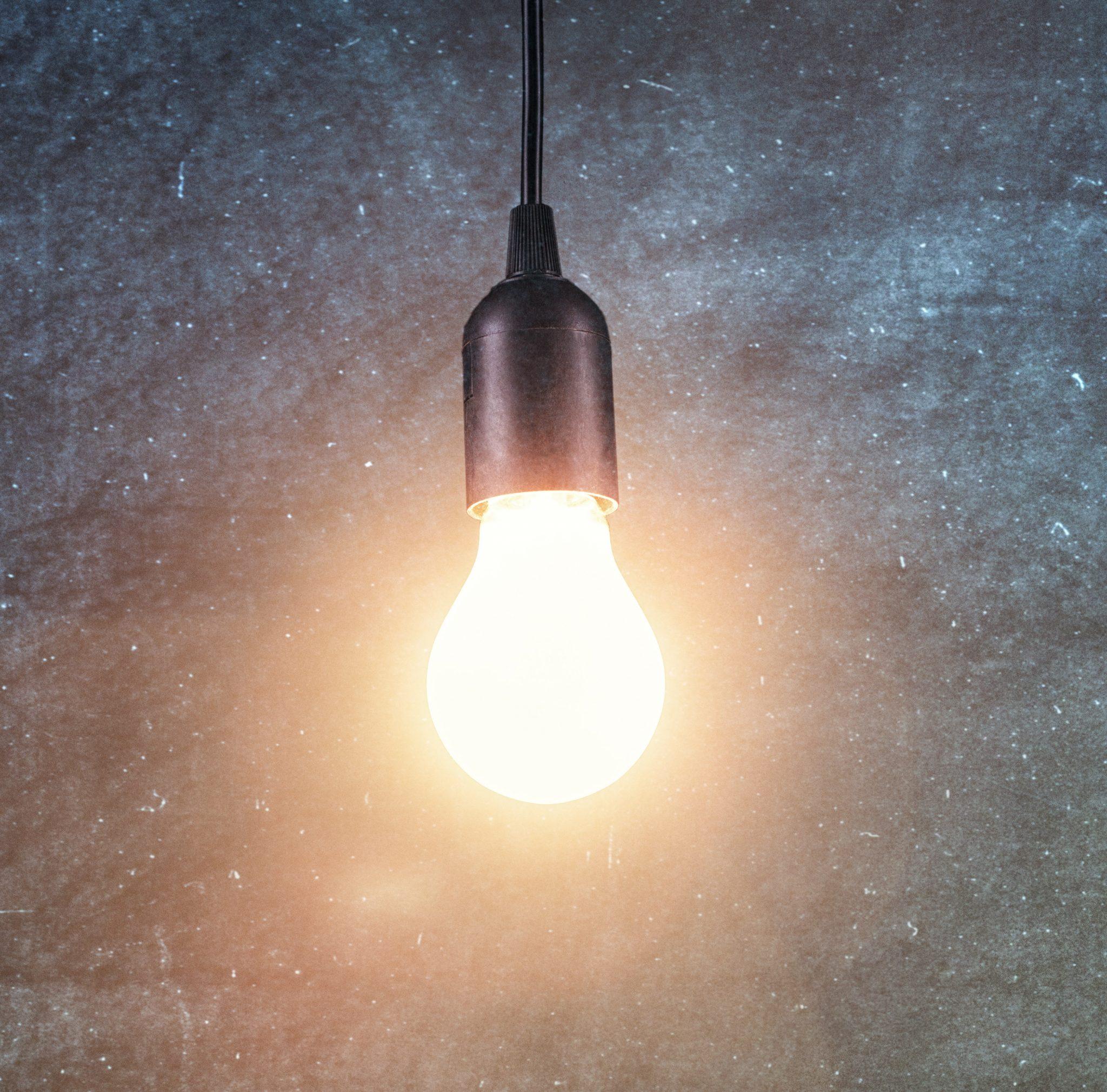 Impuls Glühbirne Symbolbild