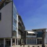 Verlagsgebäude Metropolitan in Regensburg Frontansicht