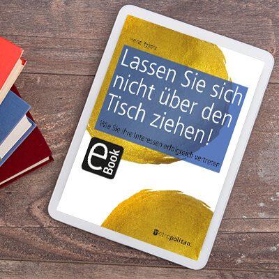 eBook Lassen Sie sich nicht über den Tisch ziehen Cover