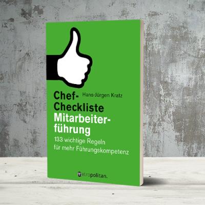 Produktabbildung zu Chef-Checkliste Mitarbeiterführung