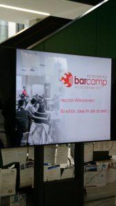 bar camp 2017 eingang