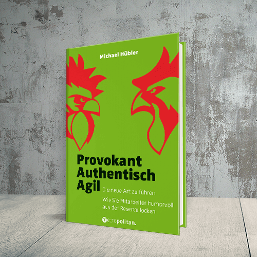 Provokant Authentisch Agil Cover Titel