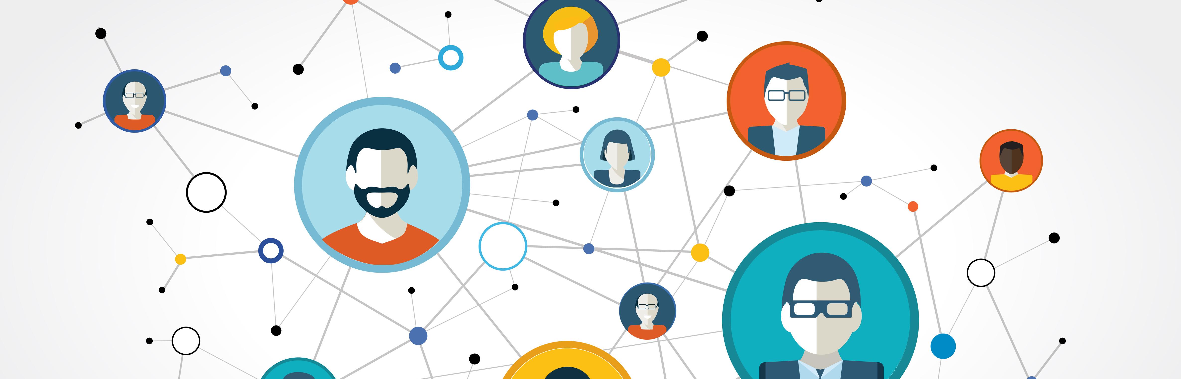 Symbolfoto für soziales Netzwerken - Erstellung eines LinkedIn-Profils