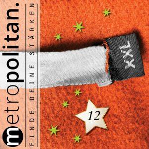 Adventskalender Nummer 12 XXL Pullover