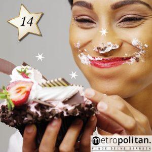 Adventskalender Nummer 14 Diät-Ratgeber Sahnetorte