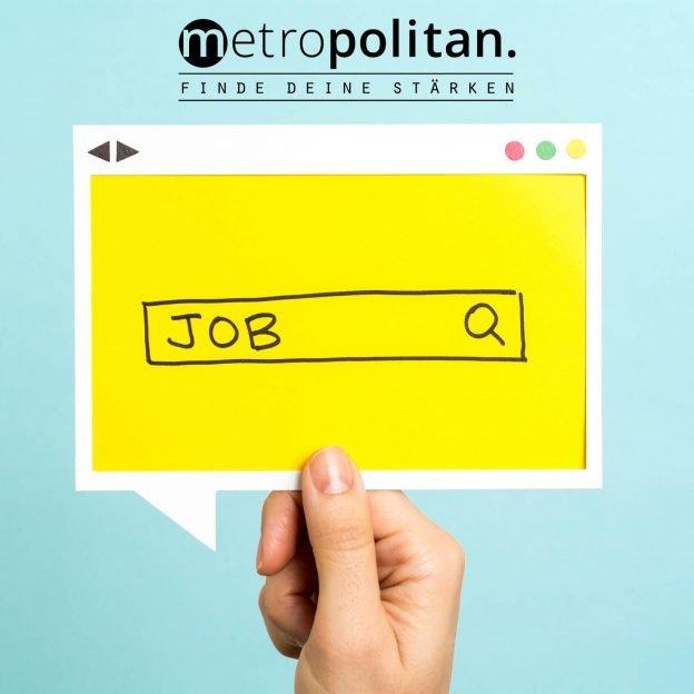 Kachel Jobangebot metropolitan Bewerbung Jobsuche
