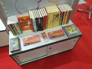 Buchmesse 2019 Regal