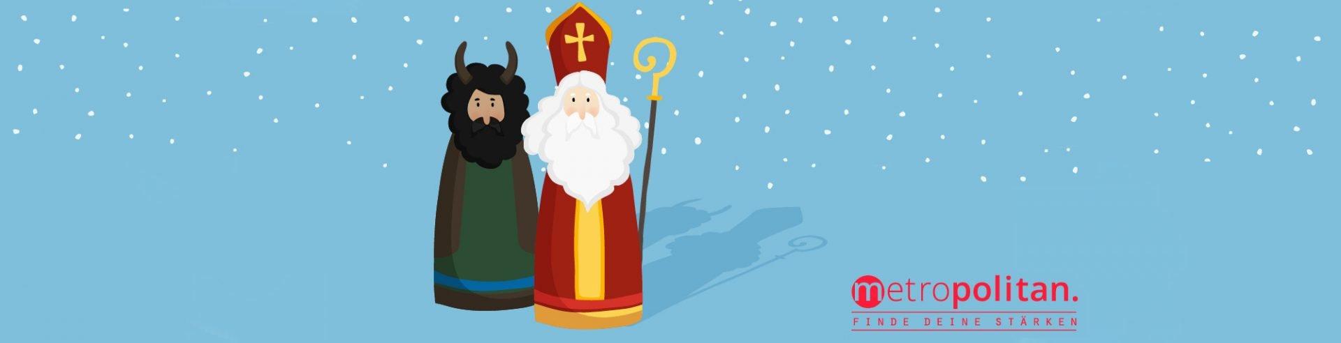Der Nikolaus für metropolitan im Einsatz