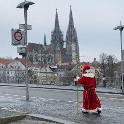 Nikolaus für metropolitan unterwegs in Regensburg