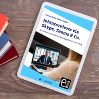 Jobinterviews via Skype, Teams und Co.