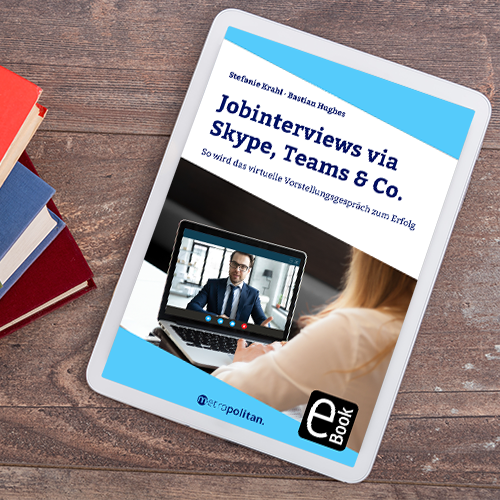Cover Jobinterviews via Skype, Teams und Co.