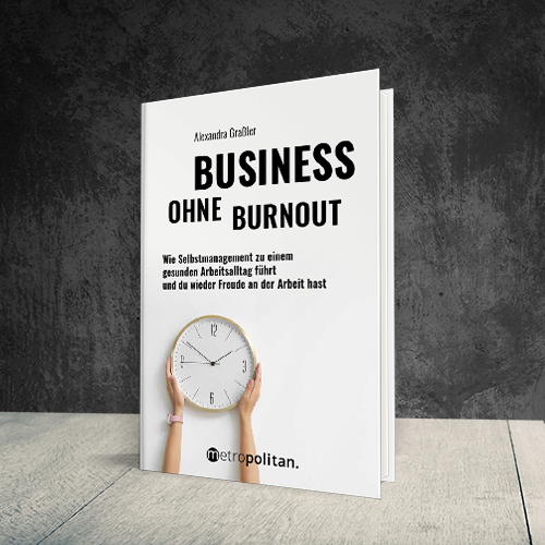 Cover Business ohne Burnout