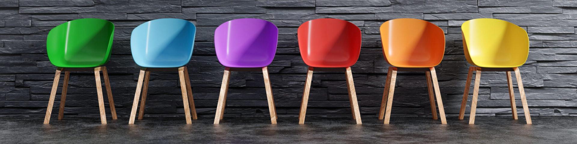 Stühle 6 Farben Jobsuche 2021