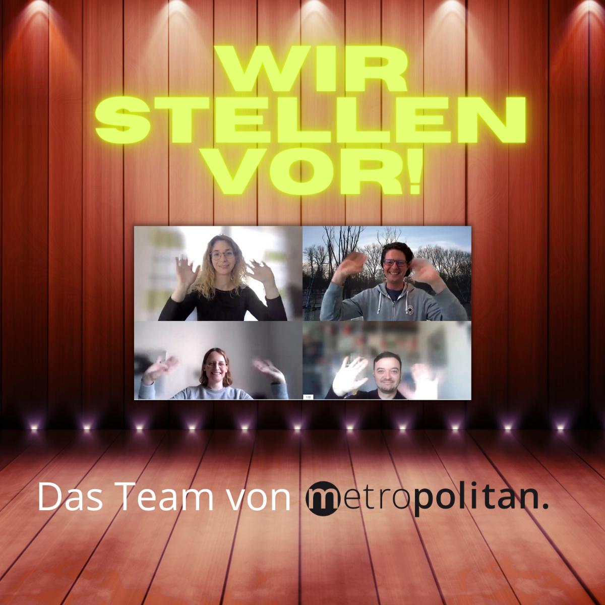 Welttag des Buches metropolitan Team