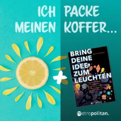 Zitronensonne Sommerlektüre Aktion Ich packe meinen Koffer... metropolitan